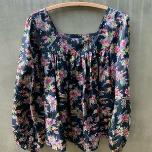 The Great Prairie Top size 1 / S silk blouse $395